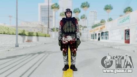 Black Mesa - Wounded HECU Marine Medic v1 pour GTA San Andreas deuxième écran