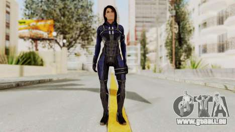 Mass Effect 3 Ashley Williams Ashes DLC Armor pour GTA San Andreas deuxième écran