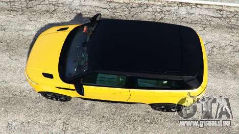 GTA 5 Range Rover Evoque vue arrière