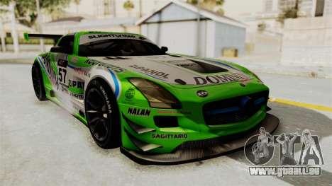 Mercedes-Benz SLS AMG GT3 PJ2 pour GTA San Andreas roue