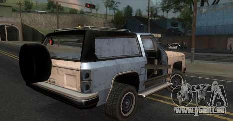 Derby Rancher pour GTA San Andreas laissé vue