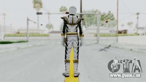 Power Rangers Dino Thunder - White pour GTA San Andreas troisième écran
