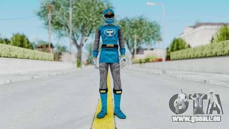 Power Rangers Ninja Storm - Blue für GTA San Andreas zweiten Screenshot