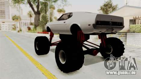 Ford Mustang 1971 Monster Truck für GTA San Andreas linke Ansicht