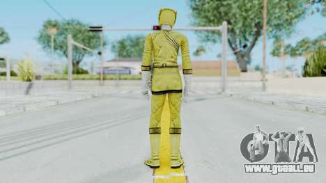 Power Rangers Wild Force - Yellow pour GTA San Andreas troisième écran
