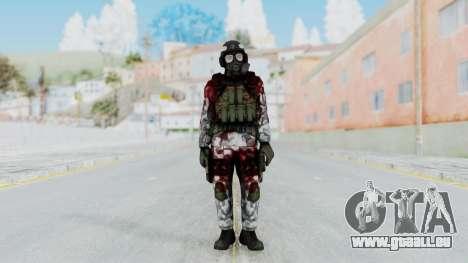 Black Mesa - Wounded HECU Marine Medic v2 pour GTA San Andreas deuxième écran