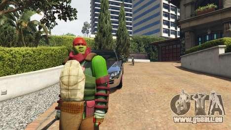 Teenage mutant ninja turtles für GTA 5