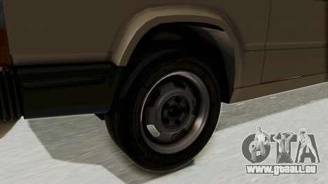 Volvo 740 für GTA San Andreas Rückansicht