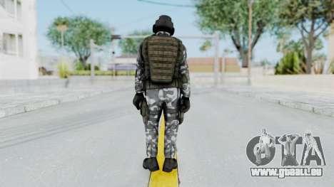 Black Mesa - HECU Marine Medic v2 pour GTA San Andreas troisième écran