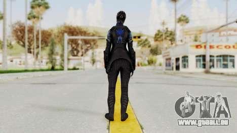 Mass Effect 3 Liara DLC Alt Costume pour GTA San Andreas troisième écran