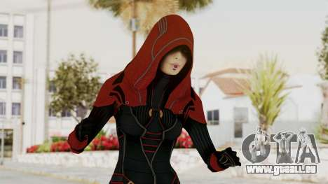 Mass Effect 2 Kasumi Red pour GTA San Andreas