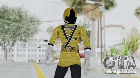 Power Rangers Samurai - Yellow für GTA San Andreas