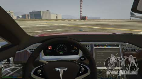 GTA 5 Tesla Model S Lenkrad