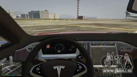 Tesla Model S pour GTA 5