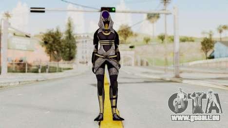 Mass Effect 3 Tali Zorah nar Rayya für GTA San Andreas zweiten Screenshot