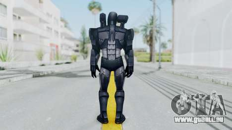 Marvel Future Fight - War Machine für GTA San Andreas dritten Screenshot