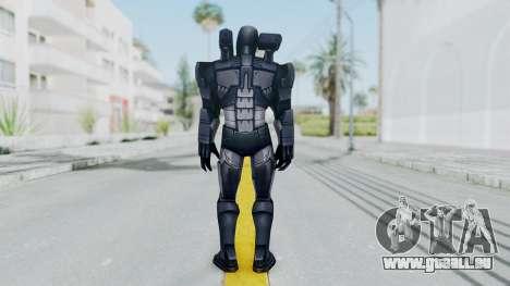 Marvel Future Fight - War Machine pour GTA San Andreas troisième écran