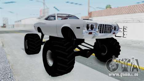 Ford Gran Torino 1972 Monster Truck pour GTA San Andreas