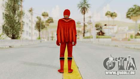 Power Rangers Mystic Force - Red für GTA San Andreas dritten Screenshot