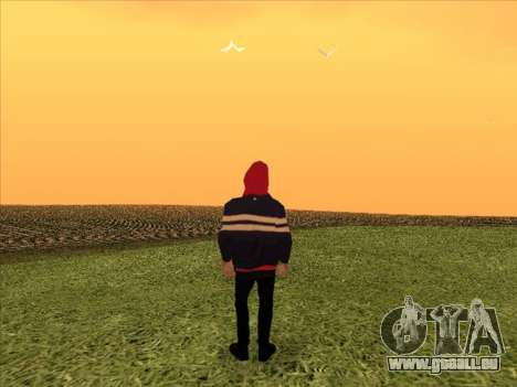 PHARAON pour GTA San Andreas troisième écran