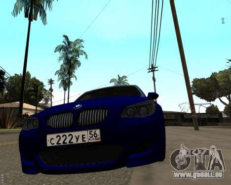 BMW M5 E60 v1.0 für GTA San Andreas zurück linke Ansicht