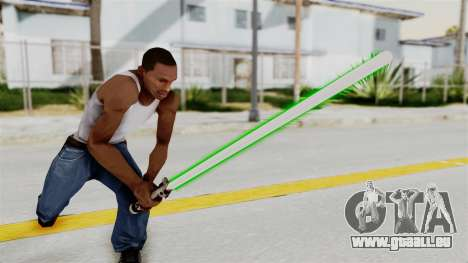 Star Wars LightSaber Green für GTA San Andreas