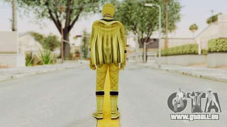 Power Rangers Mystic Force - Yellow für GTA San Andreas dritten Screenshot