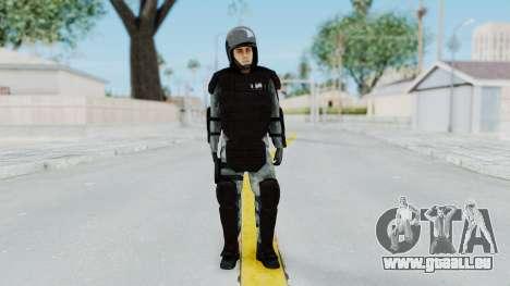 La Gendarmerie, Qui Émeute De La Peau pour GTA San Andreas deuxième écran