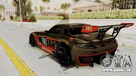 Mercedes-Benz SLS AMG GT3 PJ4 pour GTA San Andreas salon