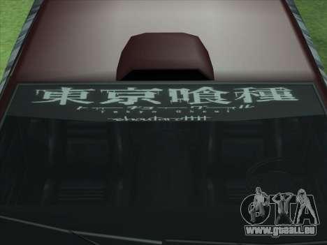 The Ghoul Elegy Vinyl (Beta) pour GTA San Andreas vue arrière