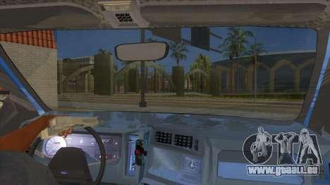 Ford Sierra 1.6 GL Updated für GTA San Andreas Innenansicht
