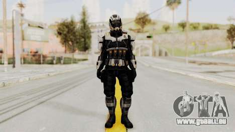 Mass Effect 3 Shepard Ajax Armor with Helmet für GTA San Andreas zweiten Screenshot