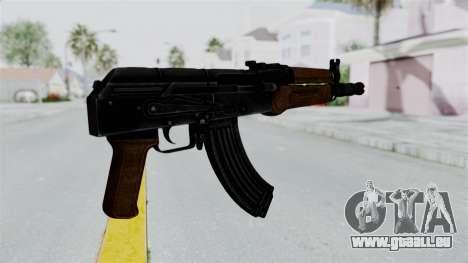 AK-47U für GTA San Andreas dritten Screenshot