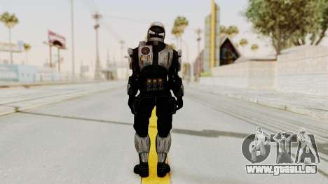 Mass Effect 3 Shepard Ajax Armor with Helmet für GTA San Andreas dritten Screenshot