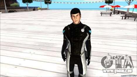Star Trek Spock pour GTA San Andreas
