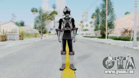 Power Rangers RPM - Silver pour GTA San Andreas deuxième écran