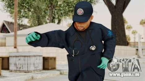 GTA 5 Paramedic SF pour GTA San Andreas