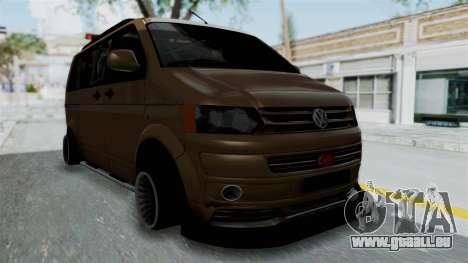 Volkswagen Transporter TDI Final pour GTA San Andreas