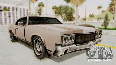 GTA Vice City - Sabre Turbo (Sprayable) für GTA San Andreas