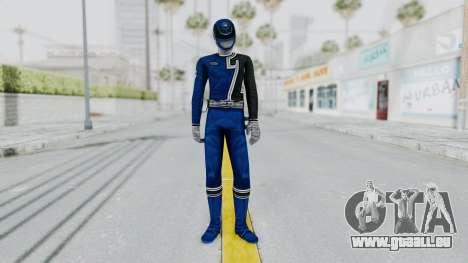 Power Rangers S.P.D - Blue pour GTA San Andreas deuxième écran