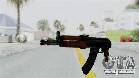 AK-47U für GTA San Andreas zweiten Screenshot