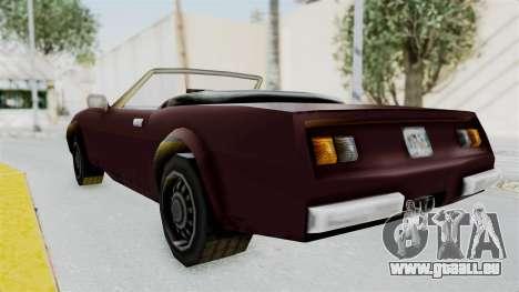GTA VC Stinger pour GTA San Andreas laissé vue