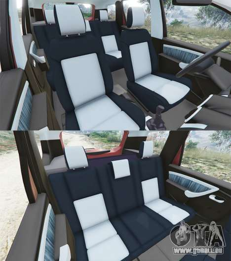 GTA 5 Dacia Duster 2014 droite vue latérale
