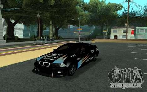 BMW M3 E46 Tunable pour GTA San Andreas vue de côté