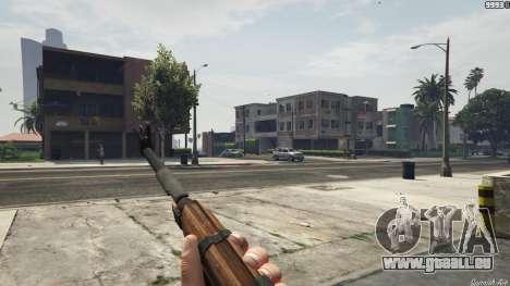 GTA 5 Bioshock Infinite - Carbine Rifle troisième capture d'écran