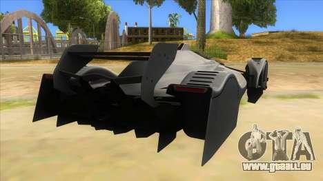RedBull X2010 pour GTA San Andreas vue de droite