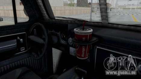 GTA 5 Bravado Duneloader Cleaner IVF für GTA San Andreas Innenansicht