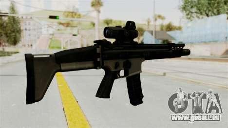 SCAR MK16 für GTA San Andreas zweiten Screenshot