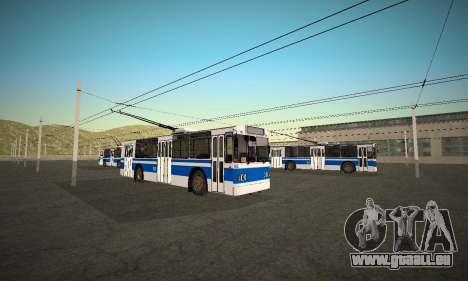 Jour 9 pour GTA San Andreas laissé vue