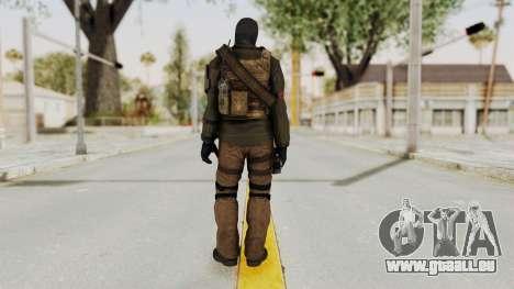 CoD AW KVA LMG für GTA San Andreas dritten Screenshot